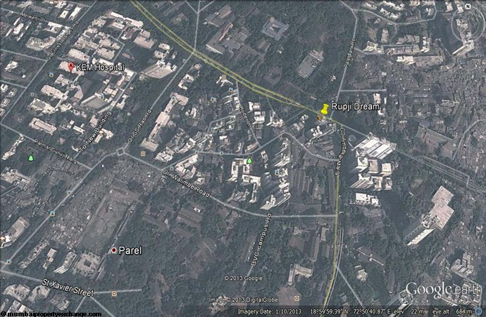 Rupji Dream Google Earth