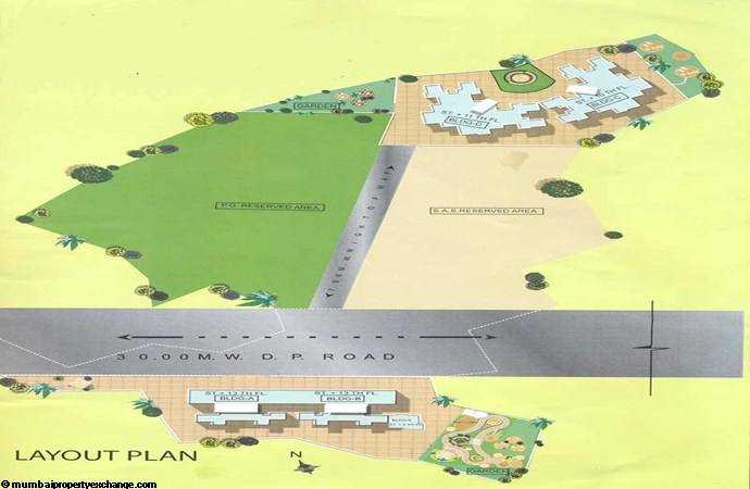 Aakar Residency Layout