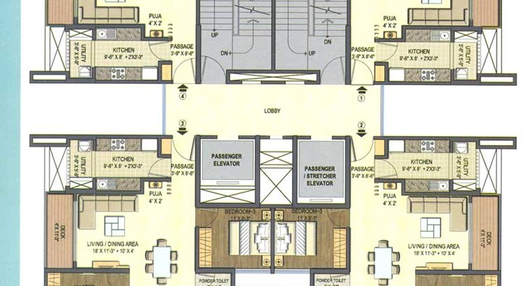 Lodha Excellencia Floor Plan II