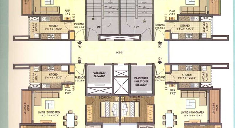 Lodha Excellencia Floor Plan III