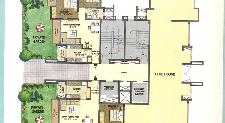 Lodha Excellencia Floor Plan IV