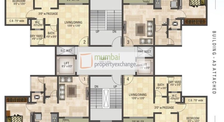 Mukta Residency Floor Plan