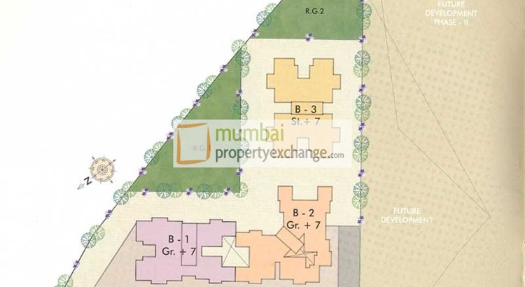 Mukta Residency Lay Out