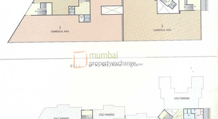 Mukta Residency Parking Lay Out