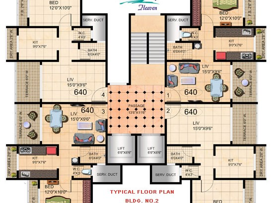 Amrut Heaven Floor Plan II