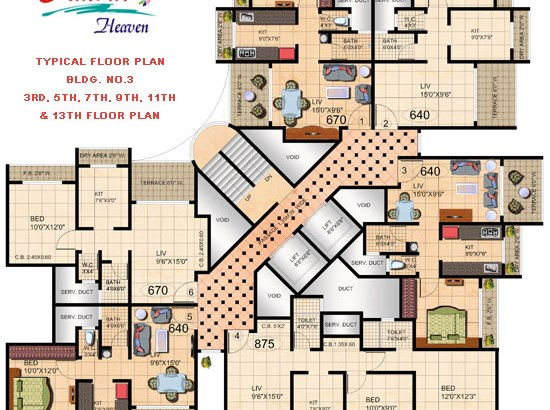 Amrut Heaven Floor Plan IV
