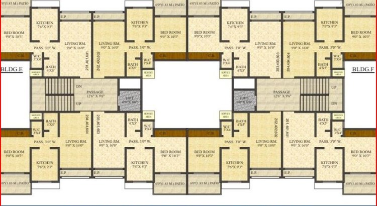 Vrindavan Palms Floor Plan II