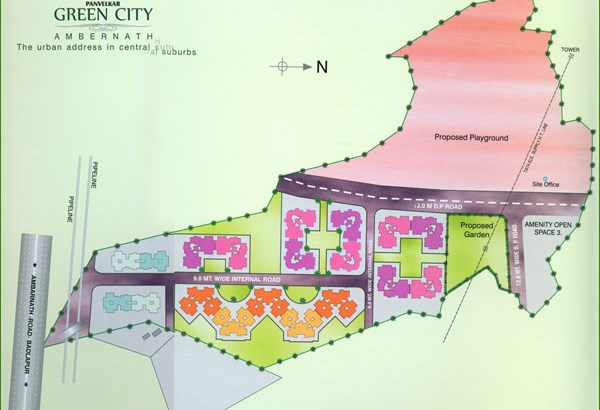 Panvelkar Green City Layout
