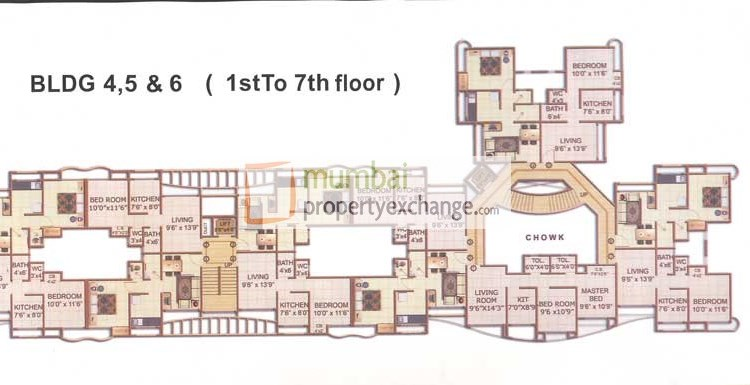 N G Regency  Floor Plan I