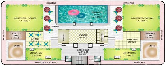 Orchid Residency Layout