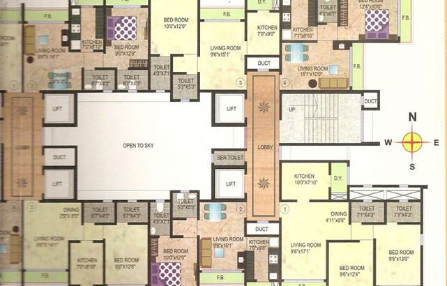 Bhoomi Legend Floor Plan II