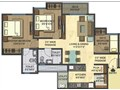 Floor plan 3 BHk