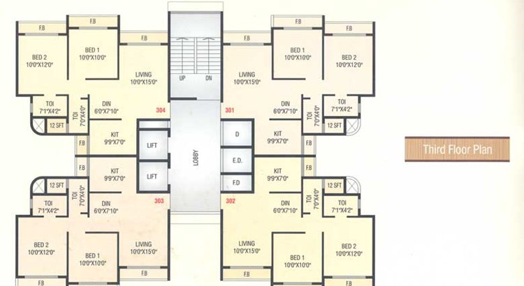 Fortune Heights Floor Plan III