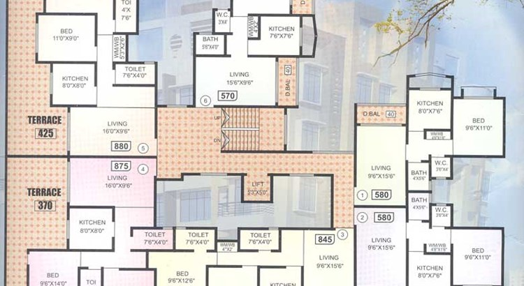 Nirmal Tower Floor Plan I