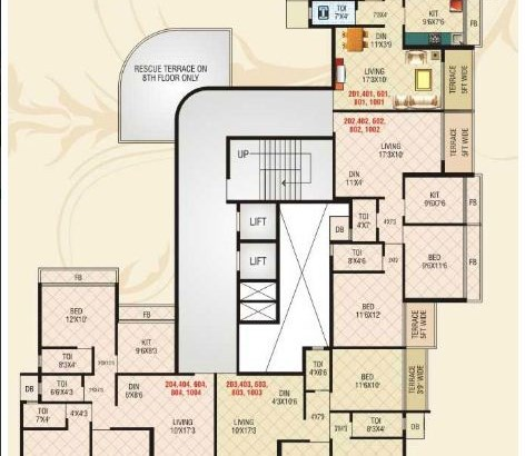 Shelter Empire Even Floor Plan