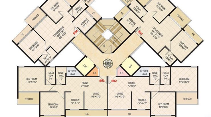 Today Shivam Floor Plan 1