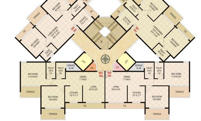 Today Shivam Floor Plan 2