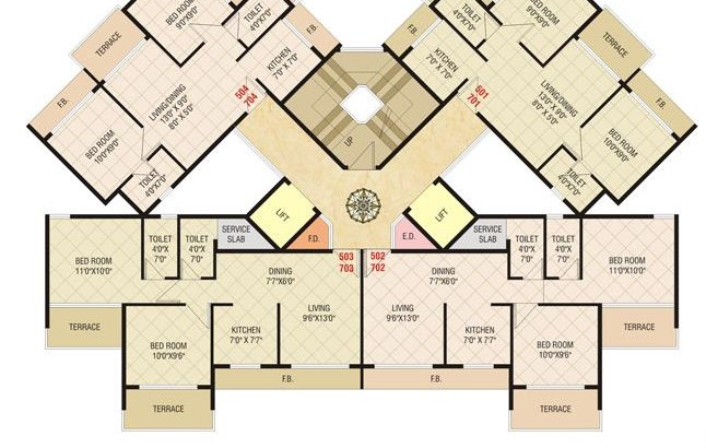 Today Shivam Floor Plan 4