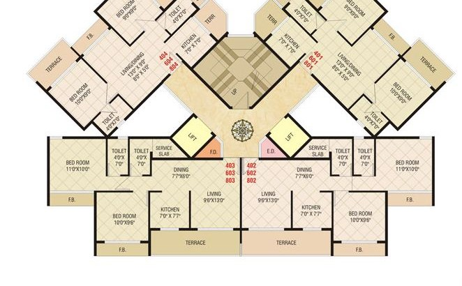 Today Shivam Floor Plan 5