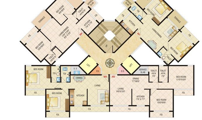 Today Shivam Floor Plan 6