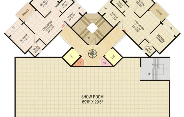Today Shivam Floor Plan 8
