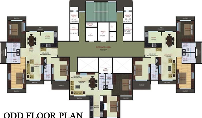 Blue Bay Floor Plan 2