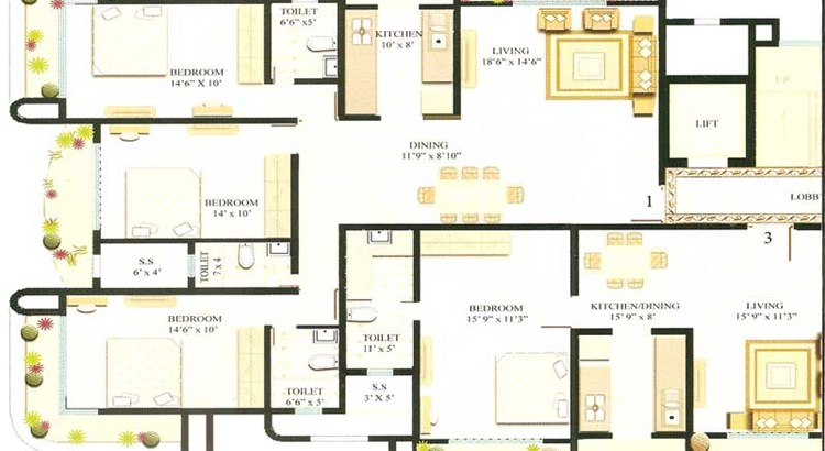 Sharan Floor Plan I