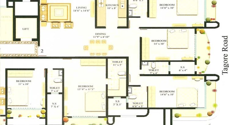 Sharan Floor Plan II