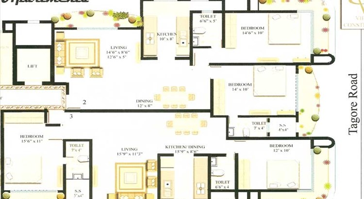 Sharan Floor Plan IV