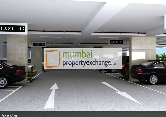 Ahuja Tower  Parking Area