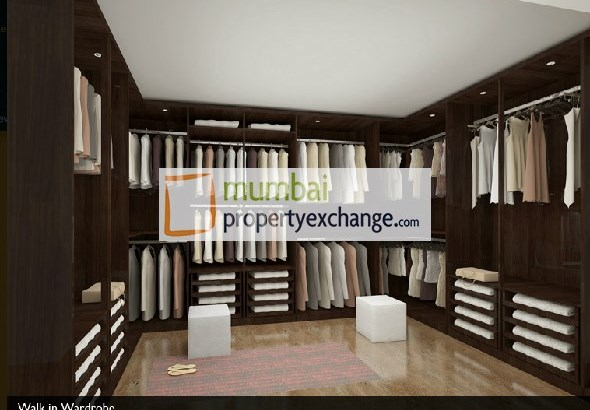 Ahuja Tower Walkin Wardrobe