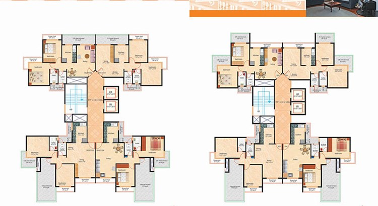 Rajesh Residency Floor Plan I