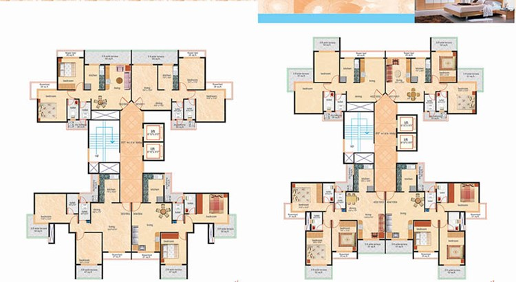 Rajesh Residency Floor Plan II