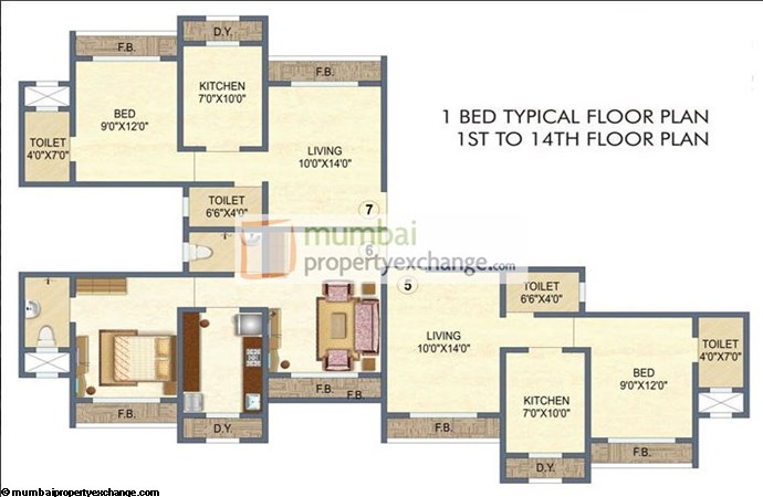 Arihant Floor Plan 1