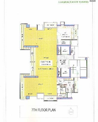 Lakshachandi Towers Floor Plan 2