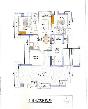 Lakshachandi Towers Floor Plan 3