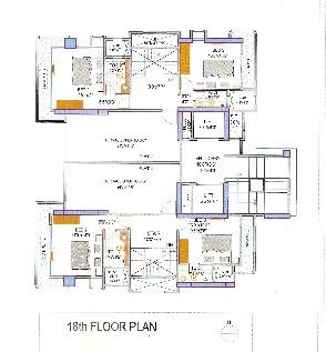 Lakshachandi Towers Floor Plan 4