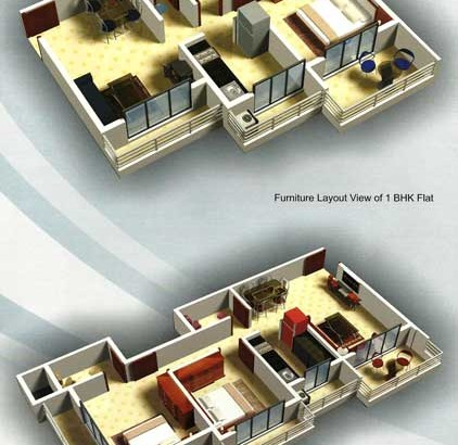 R K Residency Floor Plan