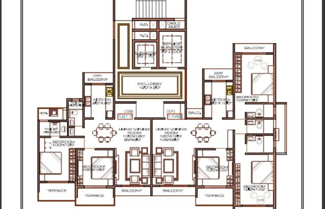 Orient Platinum 2 Floor Plan