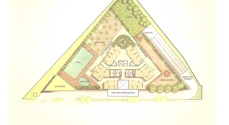 Runwal Greens Annexe Chestnut Site Plan