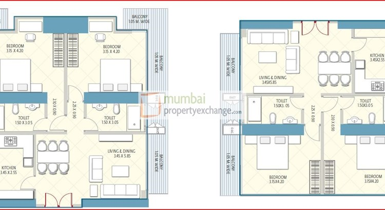 Crescent Aria Floor Plan 17