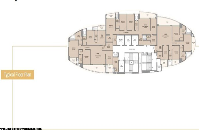 Signia High SIgnia High Typical Floor Plan
