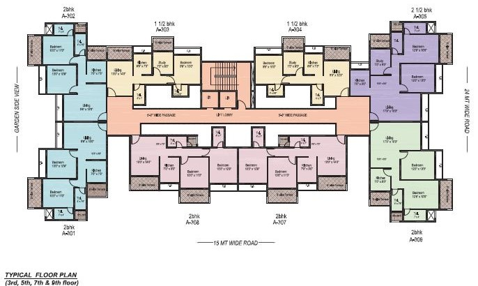 Shah Royale floor plan 1