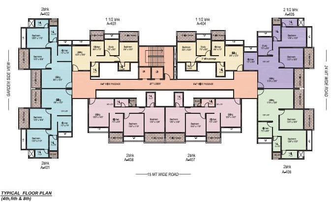 Shah Royale floor plan 2
