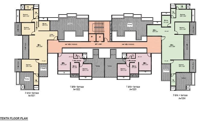Shah Royale floor plan 3
