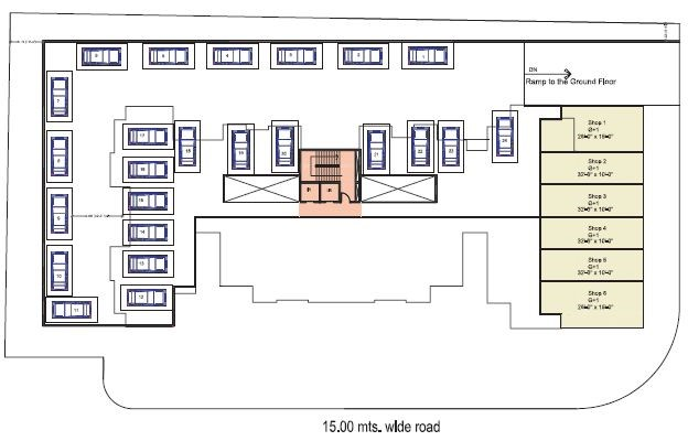 Shah Royale podium plan 1