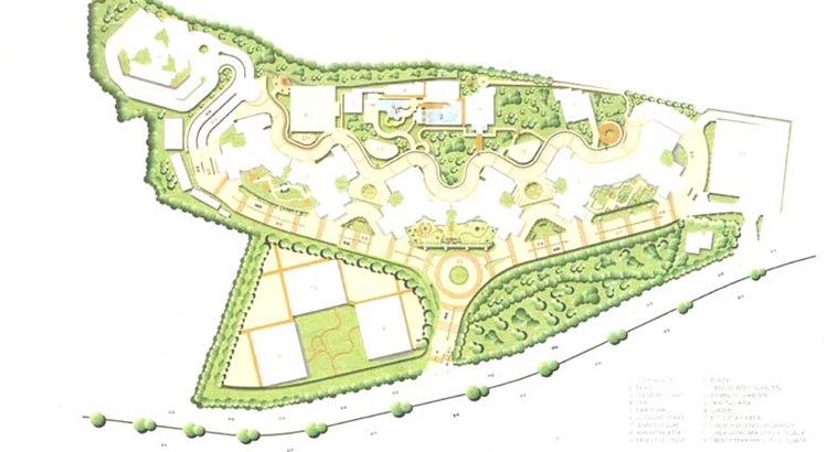 Oberoi Splendor Grande Layout plan