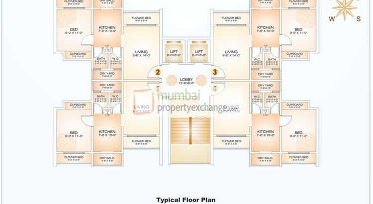 Gaurav Eden Floor Plan