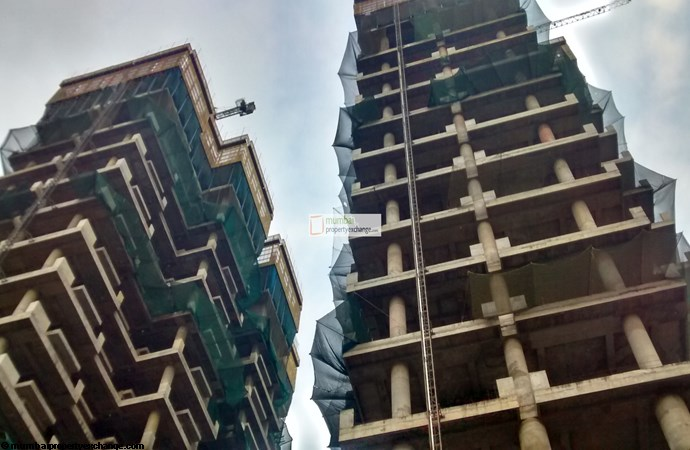 Indiabulls Sky Forest Construction Image