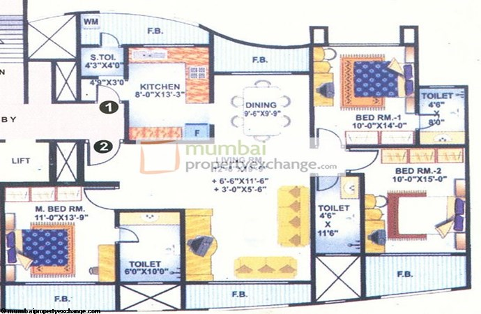 Mohini Castle Floor Plan
